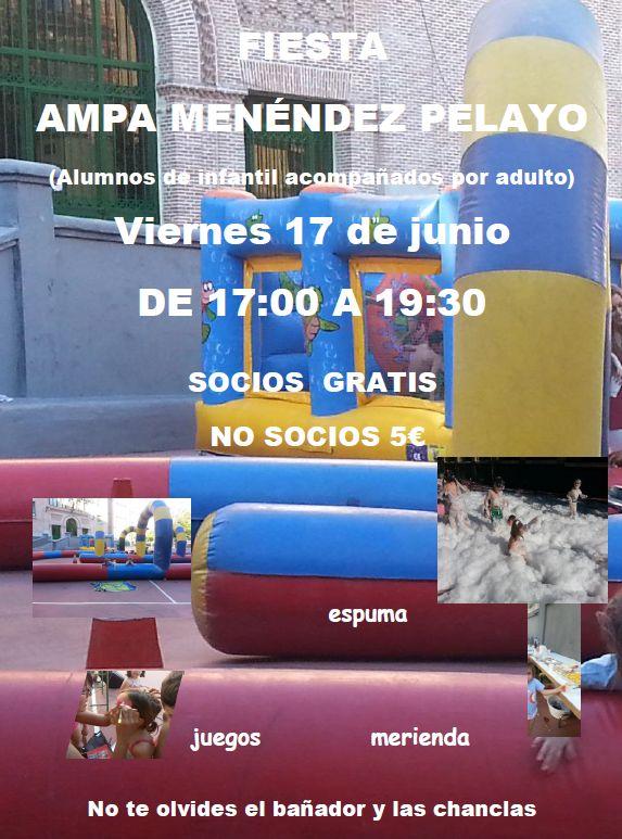 Fiesta AMPA Menéndez Pelayo