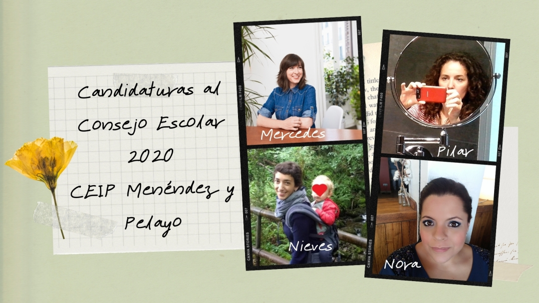 Candidatas Consejo Escolar 2020