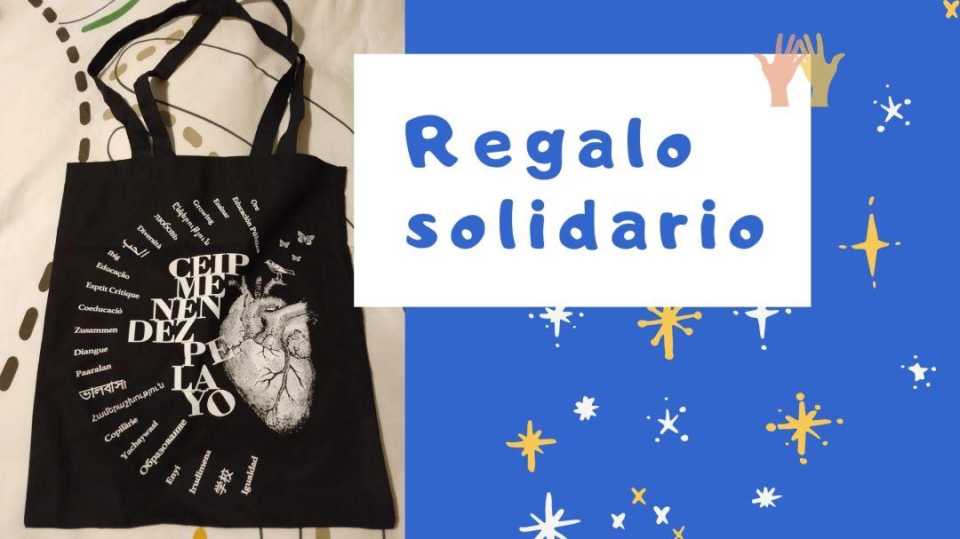Regalo solidario: bolsa de tela