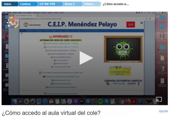 video acceso aula virtual