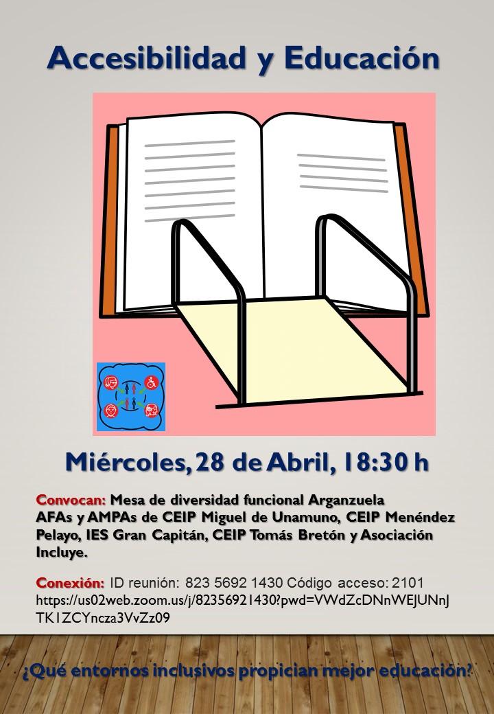 Cartel EducAccesibl